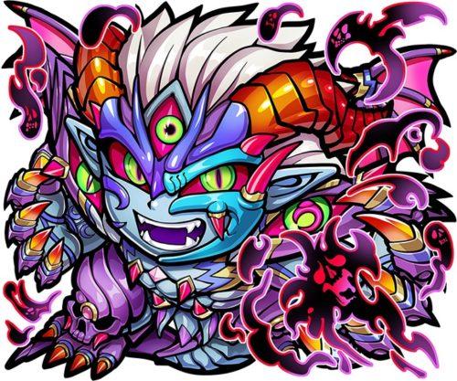 コトダマン ★6 悪魔神・ウラミ(進化後)