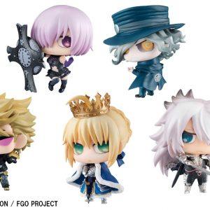 「Fate/Grand Order」のサーヴァントたちのぷちきゃらが6月7日(木)より予約開始!