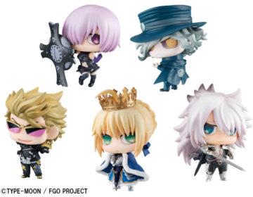 6月7日(木)予約開始!「Fate/Grand Order」のサーヴァントたちのぷちきゃら!