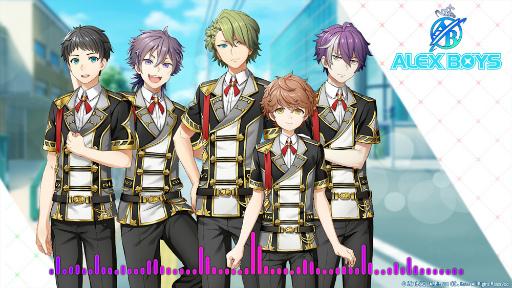「アイドルファンタジー」からボイスメッセージ第2弾が公開!さらにゲーム内ユニット「ALEX BOYS」の楽曲ショートverの試聴も開始