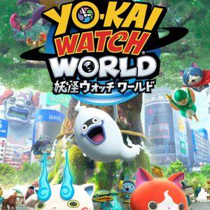 妖怪探索位置ゲーム『妖怪ウォッチ ワールド』がサービス開始!