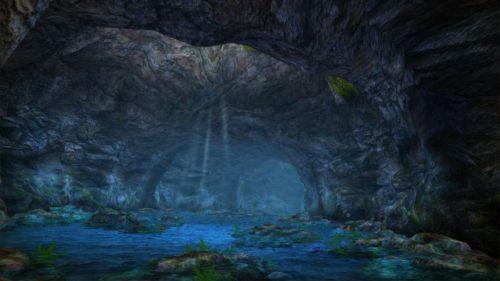 伊江島の観光名所でもある「ニヤティヤ洞」