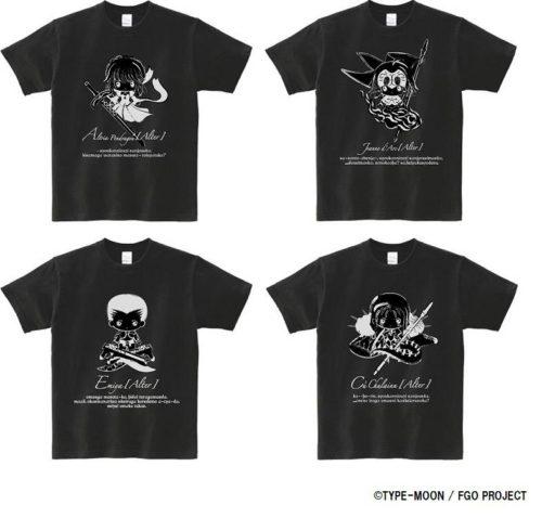 Tシャツ 4種