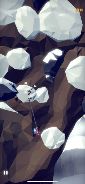崩れる雪はフックを引っ掛けっぱなしは超危険!