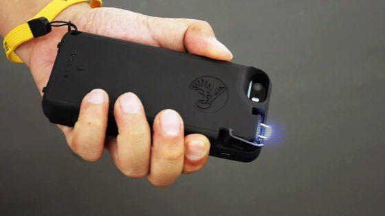 己の身を守れ!護身用スタンガン機能付きiPhoneケースが登場!