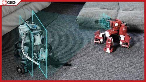 表情豊かで愛嬌のあるロボット