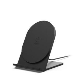 BOOST↑UP ワイヤレス充電スタンド(5W) ブラック