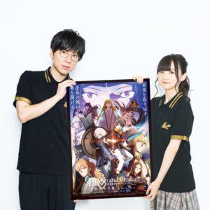 TVアニメ『Fate/Grand Order -絶対魔獣戦線バビロニア-』宣伝大使として赤羽根健治・田中美海が就任!