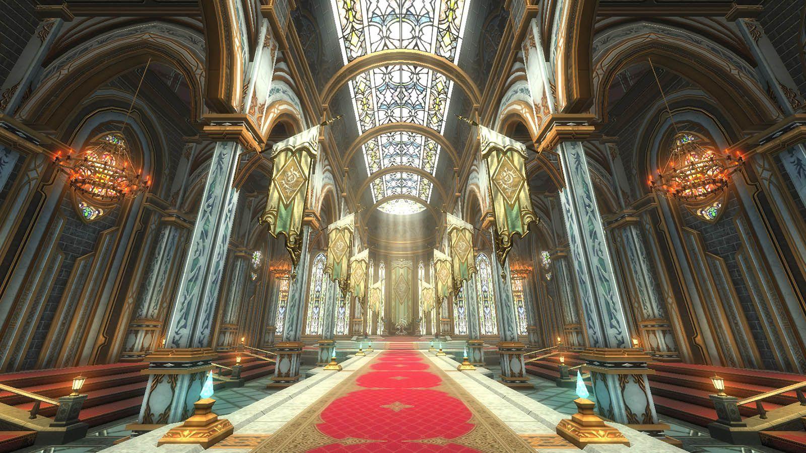 新マップ「ノルダニア王宮」