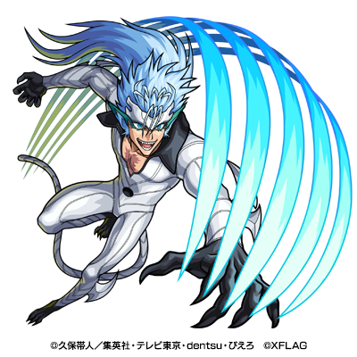 光属性 ★6 第6十刃 グリムジョー・ジャガージャック (進化合成後)