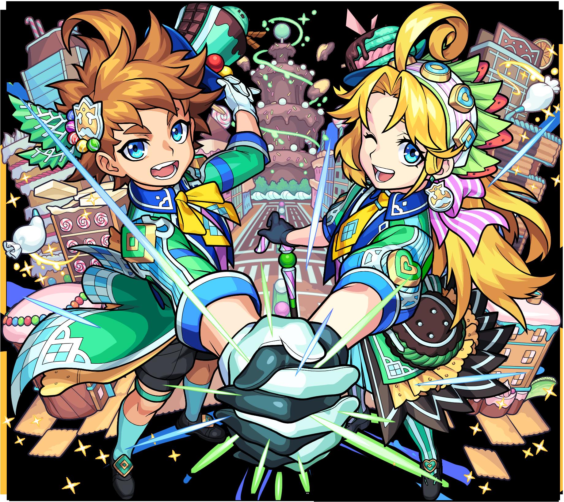 木属性 ★6 心を満たすお菓子の絆 ヘンゼル&グレーテル (獣神化後)