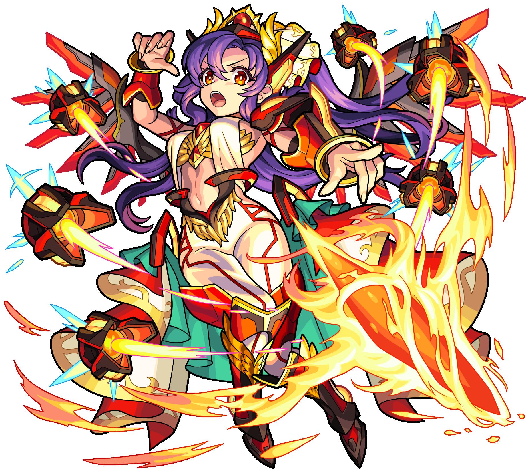 火属性 ★6 新たな光明を創造せし太陽神 アポロ (獣神化・改後)